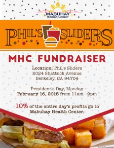 Mabuhay Fundraiser Feb 16 2015